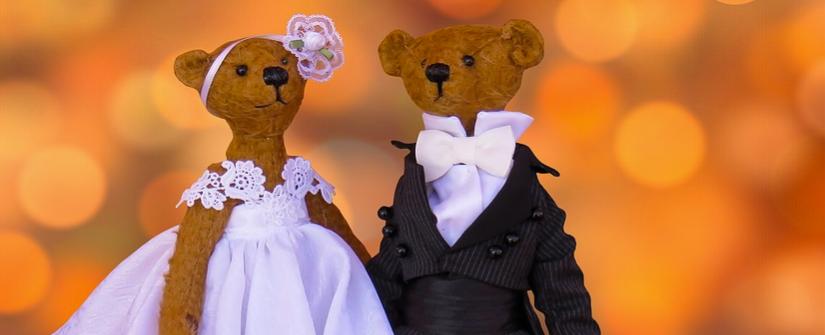 Bretels op een bruiloft of trouwdag